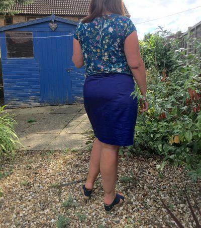Obligatory backside picture!
