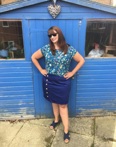 Love how I coordinate with the messy shed!